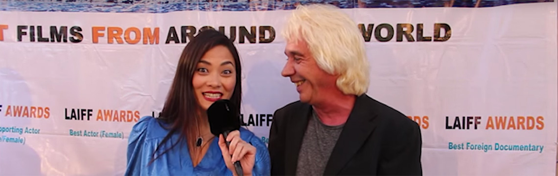 Damien Patrik Interview at LAIFF Awards